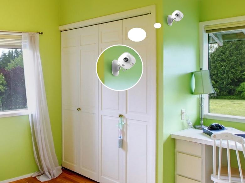 家庭视频监控摄像头安装设置