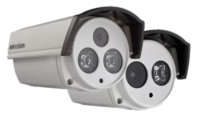 海康威視EXIR點陣紅外筒型網絡攝像機
